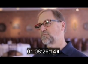 Doug Frost, MS/MW during interview at Mid-American Wine Competition. Footage being reviewed.