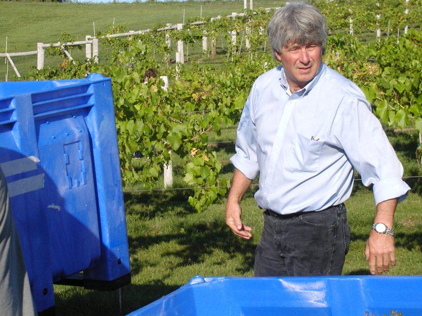 Fireside Winery owner, Bill Wyant.