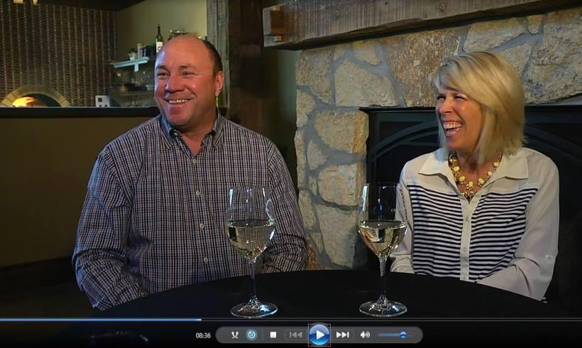 Kent and Jane of Chankaska Creek Ranch & Winery