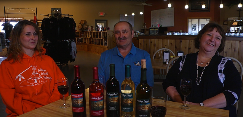 Indian Island Winery - Ray, Lisa and Angie